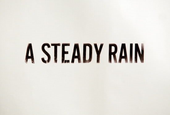 Photo Coverage: A STEADY RAIN - Opening Night Reception Photo Call