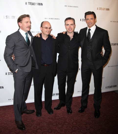 Daniel Craig, writer Keith Huff, director John Crowley and Hugh Jackman