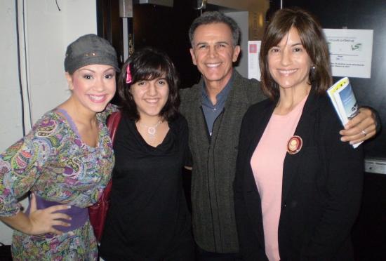Diana DeGarmo, Isabel Plana, Tony Plana and  Ada Maris