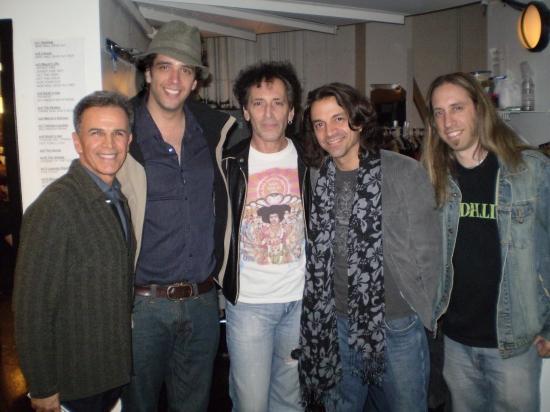 Tony Plana, Nick Cordero, Alan Childs, Chris Cicchino, and Dan Grennes