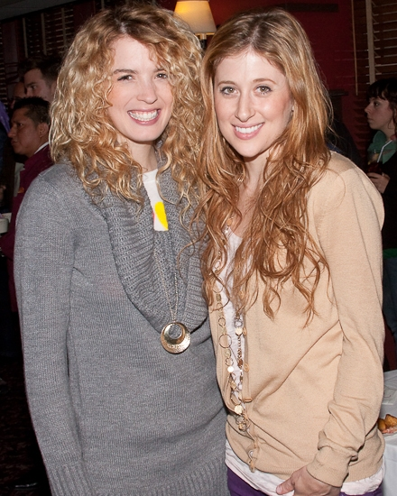 Kacy Sheik and Caissie Levy
