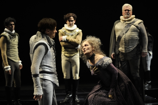 Jennifer Harmon, Wallace Acton, Demetrios Troy, and John Lister at CST Began Its 2009/10 Series With Barbara Gaines Directing RICHARD III 9/23-11/22