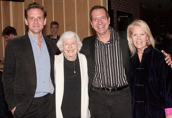 Malcom Gets, Helen Stenborg, Stephen DiMenna, and Daryl Roth