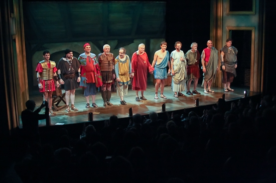 Photo Coverage: TWO UNRELATED PLAYS BY DAVID MAMET - Opening Night Curtain Call