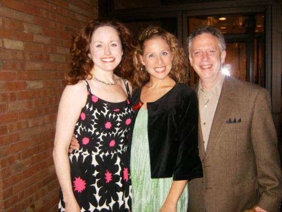 Heidi Kettenring, Johanna McKenzie Miller and Ross Lehman Photo