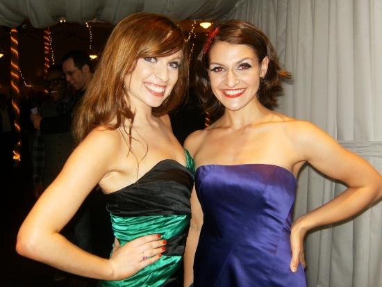 Leslie Taylor and Vanessa Panerosa