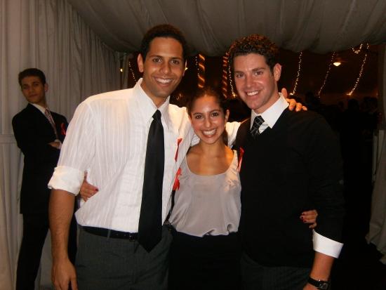 Brandon Koller, Laura Scheinbaum and Max Quinlan Photo