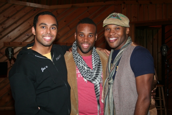 Jesse Nager, Maurice Murphy and Michael James Scott