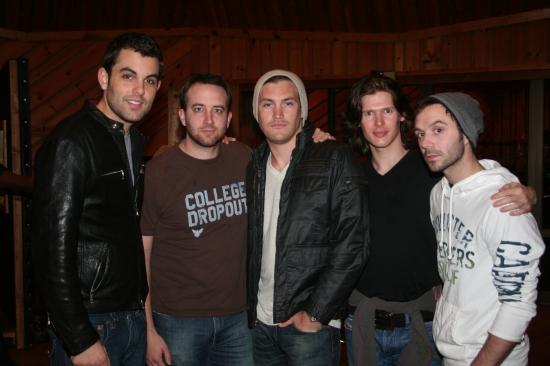 Zak Resnick, Peter Matthew Smith, Landon Beard, Lucas Steele and Danny Calvert