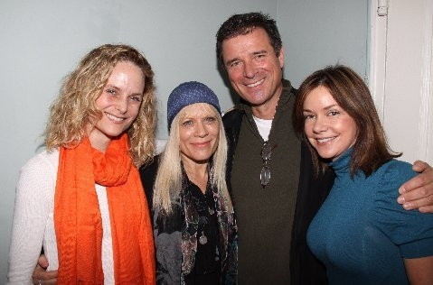 Photo Flash: Soap Stars & Director/Choreographer Patricia Meet The Cast of UNDER FIRE