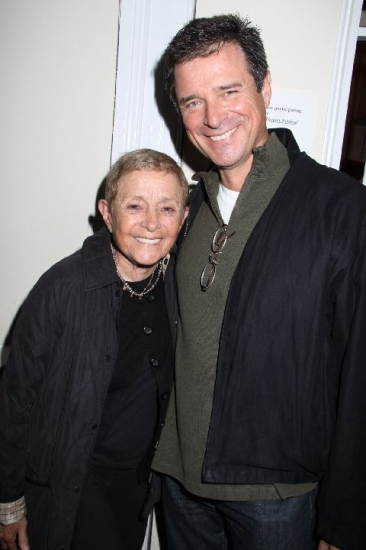 Patricia Birch & James DePaiva at Soap Stars & Director/Choreographer Patricia Meet The Cast of UNDER FIRE
