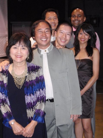 Sachi Oyama, Nathan Wang, Tim Dang, Reggie Lee, Aaron Coleman, and Leslie F. Espinosa