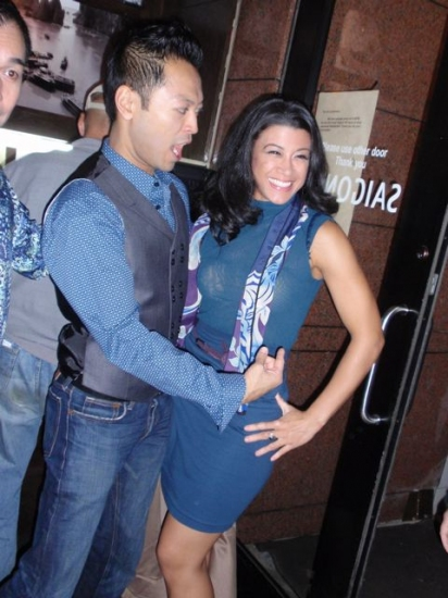 Billy Bustamante and Angelica-Lee Aspiras