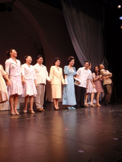 Photo Flash: Pan Asian Rep's IMELDA, A New Musical Celebrates Opening Night