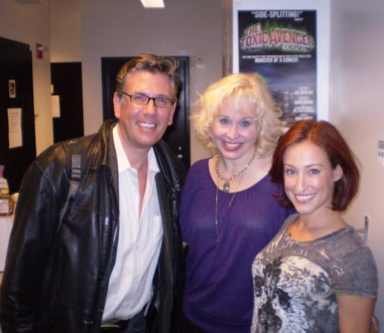 Tom Polum, Nancy Opel and Erin Leigh Peck