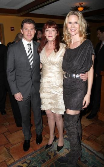 Bobby Flay, Kate Buddeke and Stephanie March