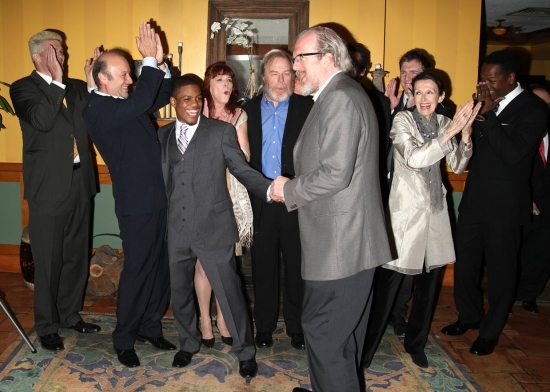 Michael Garvey, Yasen Peyankov,Jon Michael Hill, Kate Buddeke, Michael McKean, Tracy Letts, Robert Maffia, Jane Alderman, Cliff Chamberlain and James Vincent Meredith