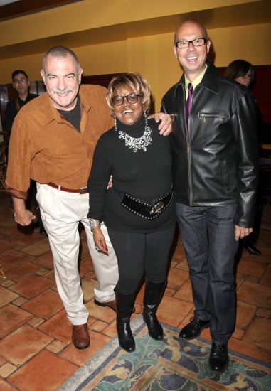 Broadway Beat's Bradshaw, Richie Ridge with Irene Gandy