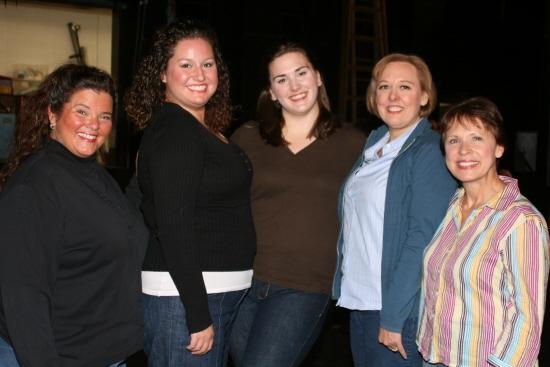 Female soloists Jane Corrigan, Cara Green, Angela Richardson, Sue Carity Conkey and Cathy Headrick
