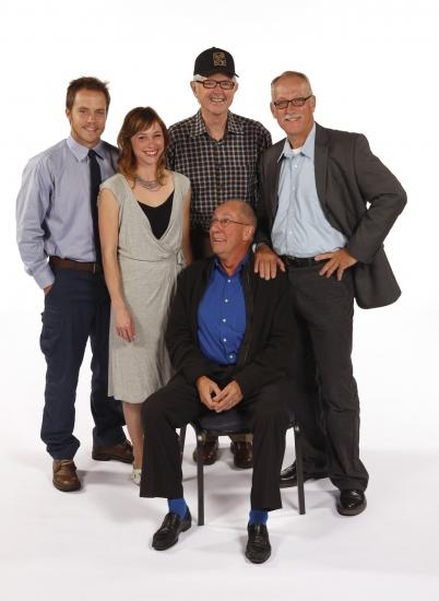 Graham Hamilton, Kristen Bush, director David Emmes, Nick Ullett and Conor O'Farrell.