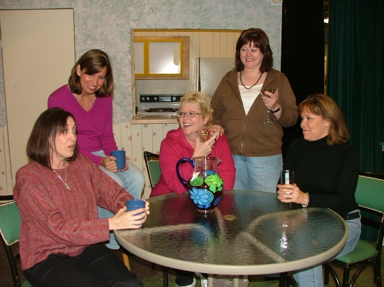 Rachel Wilson of Kettering, Cassandra Engber of Centerville, Stefanie Pratt of Kettering, Debra Kent of Centerville and Jill Proudfoot of Kettering.