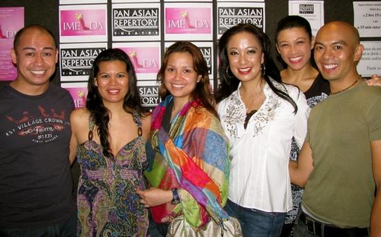 Photo Flash: Tony Winner Lea Salonga Visits Off-Broadway's IMELDA