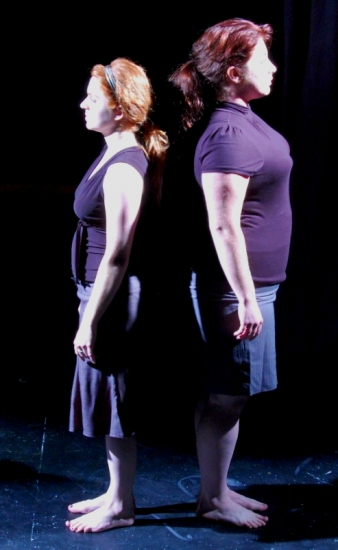 Trude Grosenbach and Maddie Radcliff