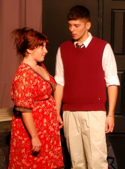 Maddie Radcliff and Michael Juarez