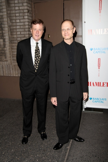 Brian Hargrove and David Hyde Pierce