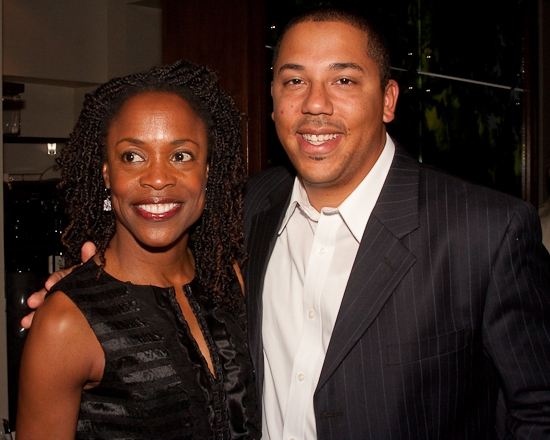 Charlayne Woodard and Darnell Williams
