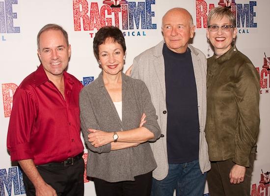 James Moore, Stephen Flaherty, Lynn Ahrens, Terrence McNally and Marcia Milgrom Dodge Photo