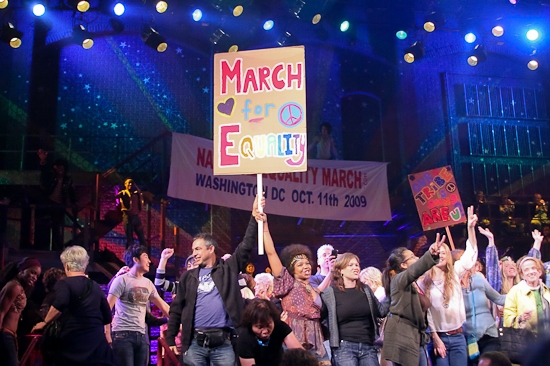 Photo Coverage: HAIR's Special Finale to Honor the Upcoming National Equality March
