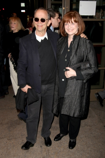 Joel Grey and Blair Brown at THE ROYAL FAMILY - Opening Night Arrivals