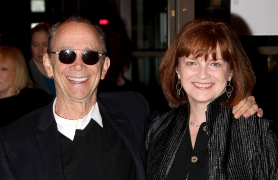 Joel Grey and Blair Brown