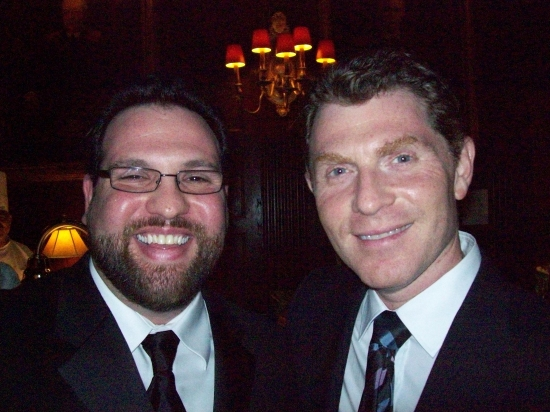 Brian Loevner and Bobby Flay