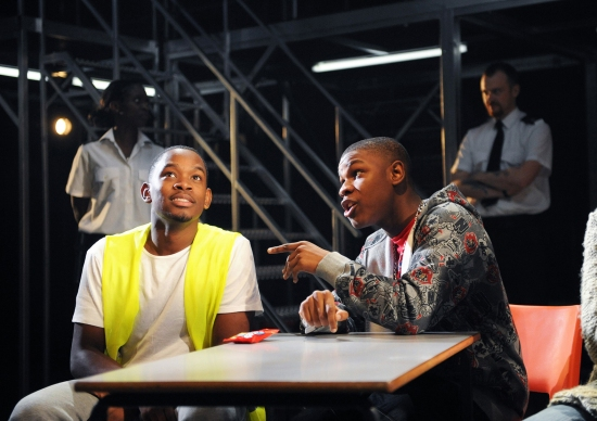 Aml Ameen and John Boyega
