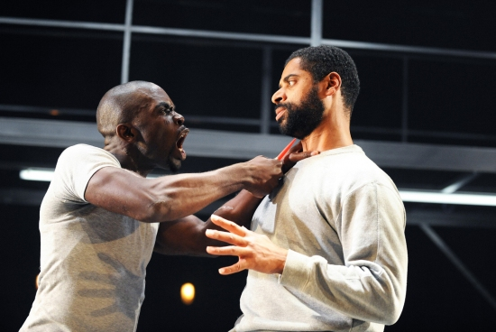 Jimmy Akingbola and Karl Collins at CATEGORY B Plays Not Black And White Season
