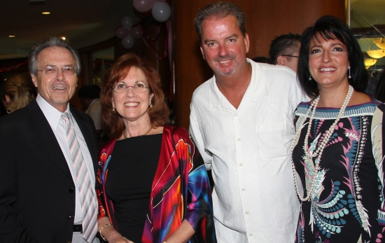 Shep and Linda Faber with Jeff and Lourdes Rey-Wilson