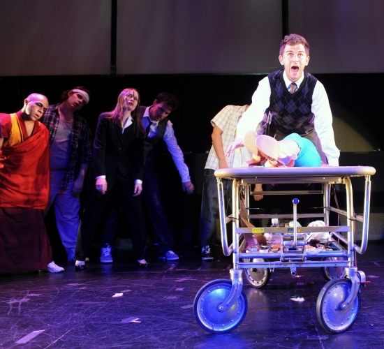 Photo Flash: THE HAPPY EMBALMER