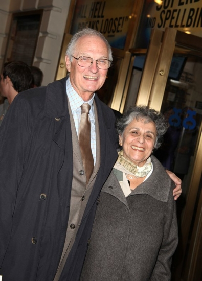 Alan Alda and Arlene Alda
