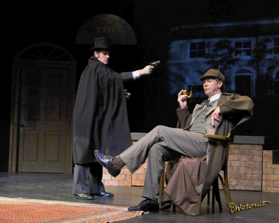 Cody Murphy and John Alcott at Wayside Theatre Presents SHERLOCK HOLMES