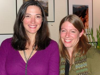 Elizabeth Laidlaw and Ann Filmer