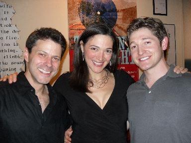 Doug MacKechnie, Elizabeth Laidlaw, and Lucas Neff