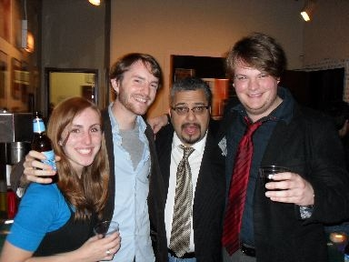 Samantha Molnar, Cynthia Frahm, Richard Perez, and Alex Huntsberger