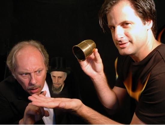 Peter Samelson & Dennis Kyirakos with Paul Zimet