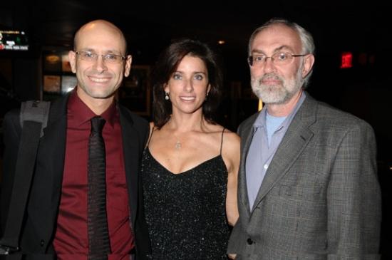 Gary Stadtmauer, Sandra Coudert and David Van Asselt