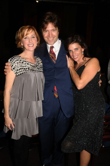 Anastasia Barzee, Lawrence Benenson and Sandra Coudert at Rattlestick Theatre 15th Anniversary Gala Benefit