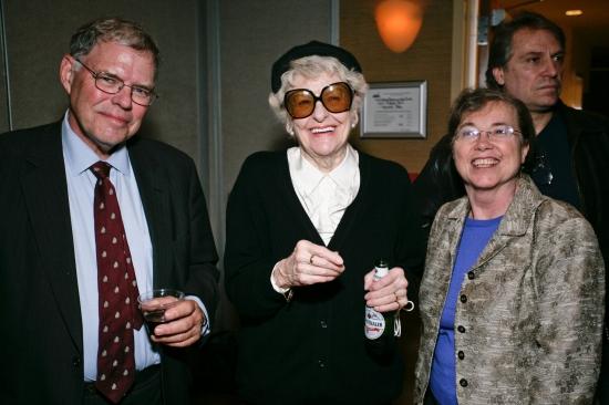 Anthony Leitner, Elaine Stritch, Jennifer Leitner