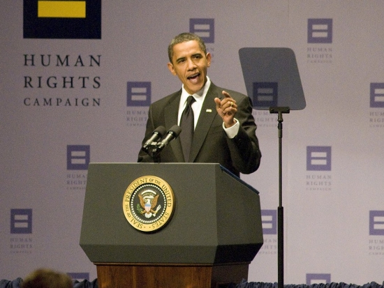 President Barack Obama at The Human Rights Campaign 13th Annual National Dinner