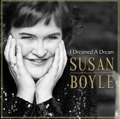 Susan Boyle's Debut CD, 'I Dreamed A Dream', Cover Art Revealed